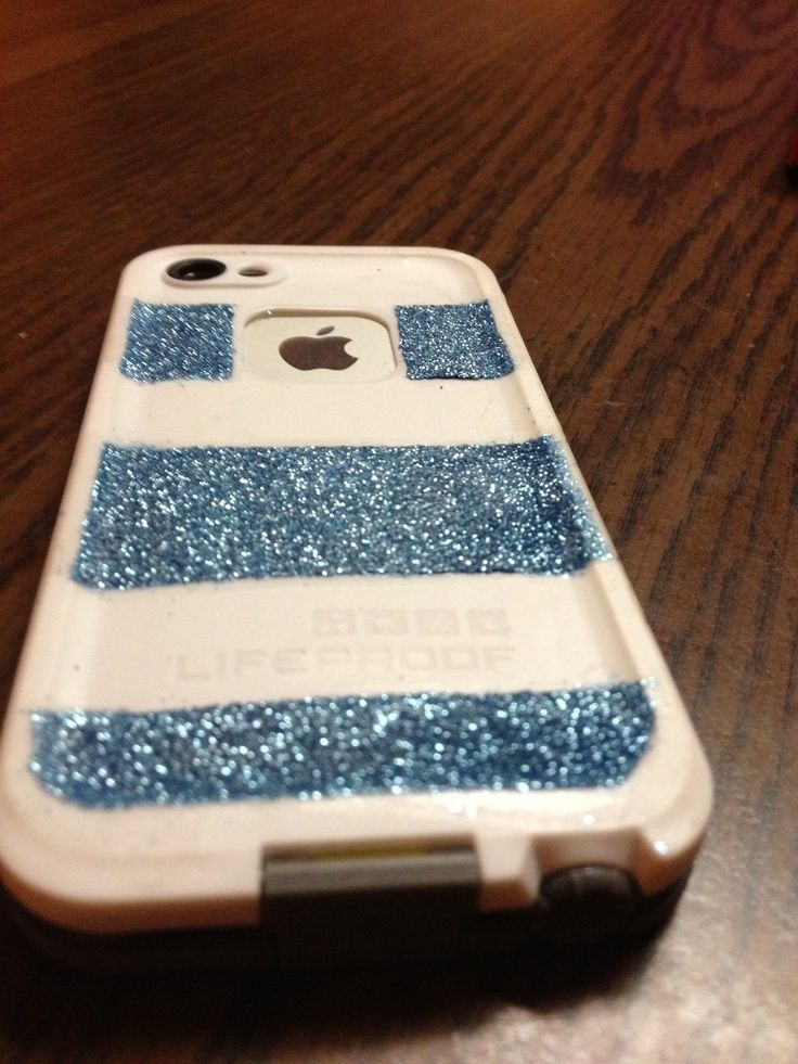 Custom lifeproof case sparkle iphone 5 lifeproof