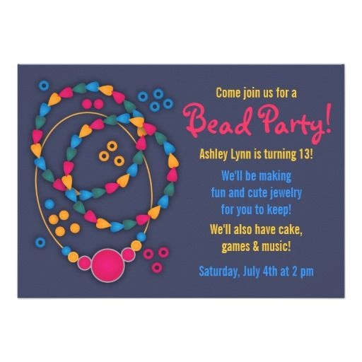 Colorful bead jewelry party invitations so please read the important colorful bead jewelry party invitations so please read the important details before your purchasing anyway here is the best buydealsplease follow the link stopboris Image collections