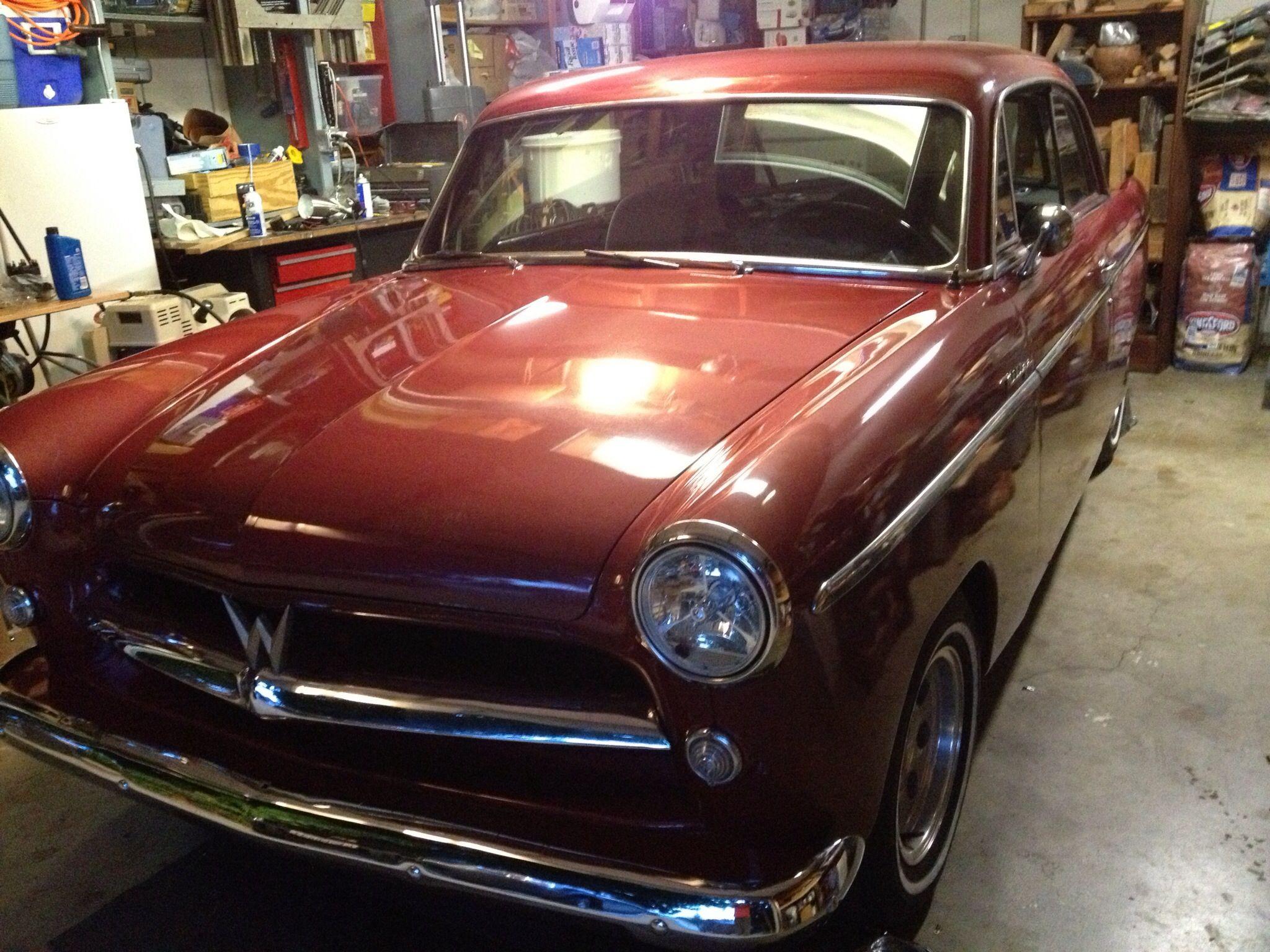 1953 Willys 2 Door In The Garage Work In Progress So Far Front Suspension  New Radiator