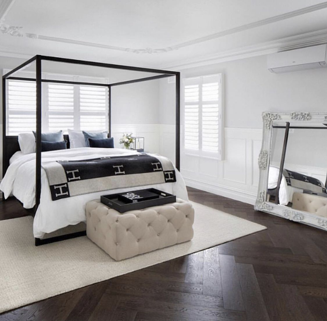 Hamptons Inspired Luxury Home Master Bedroom Robeson: Pin By Mish Allen On DREAM HOUSE