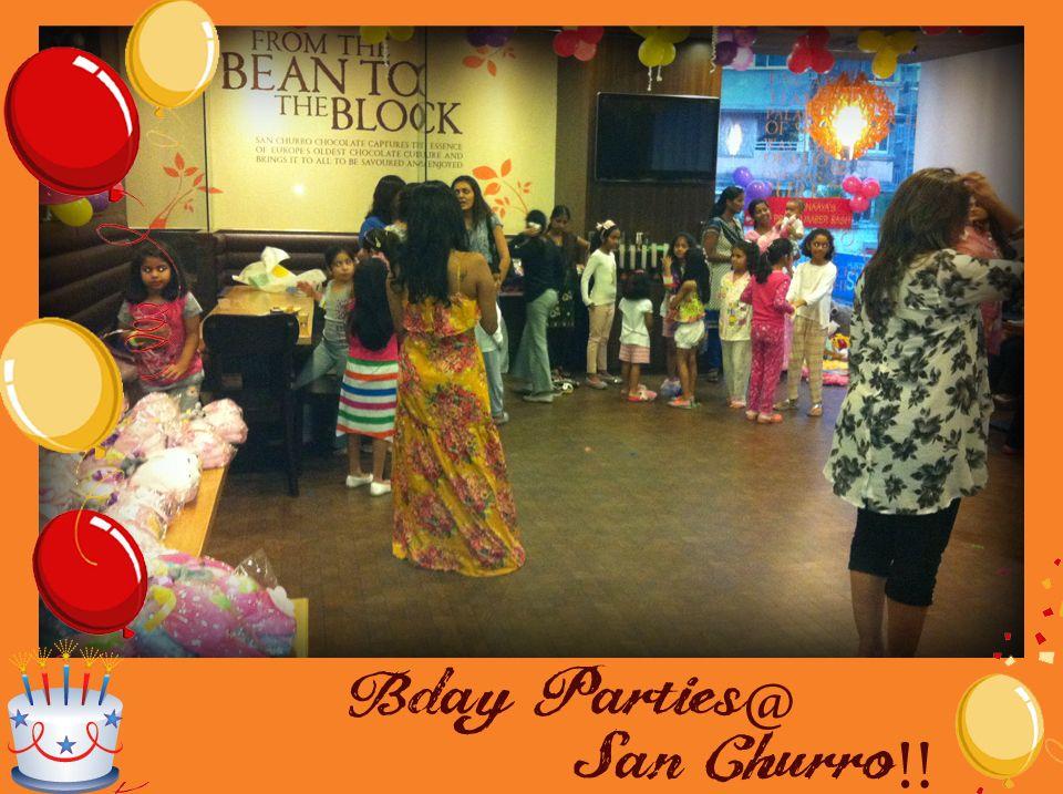 a great turnout of invitees birthday s san churro pinterest