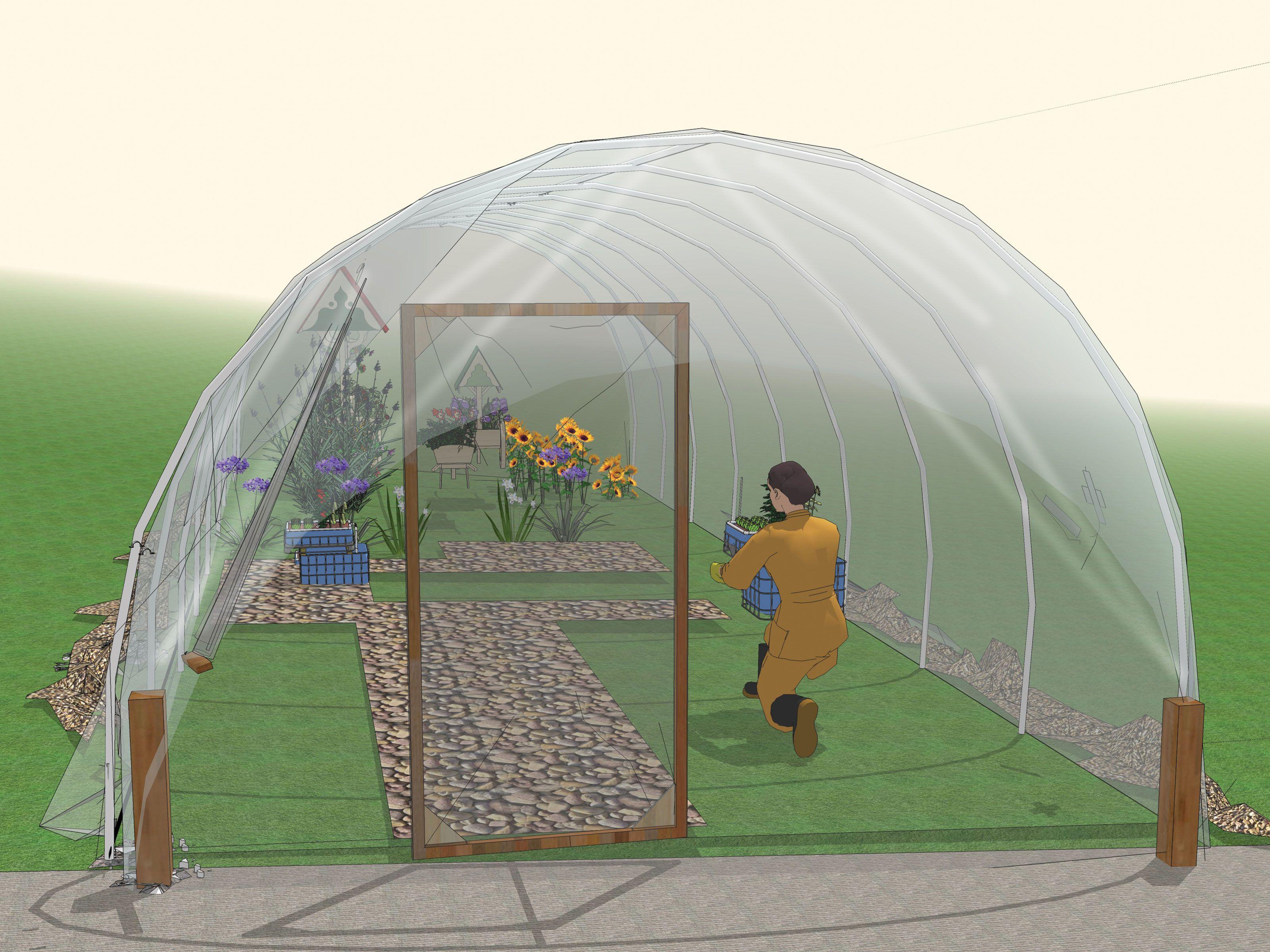 Build a pvc hoophouse pvc greenhouse plans pvc