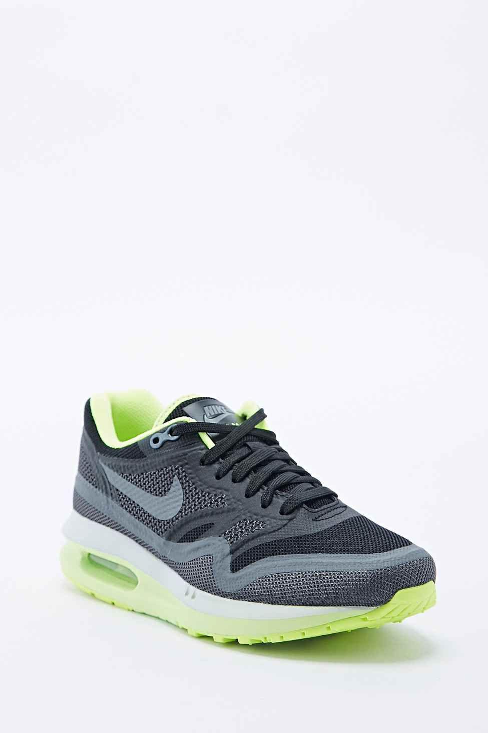 Nike - Baskets Air Max 1 Breathe vertes et noires