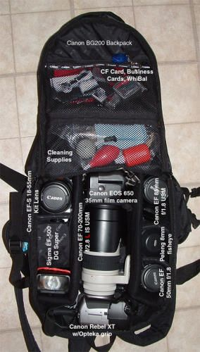 Canon Deluxe Photo Backpack 200eg Off Center One Day A Studio