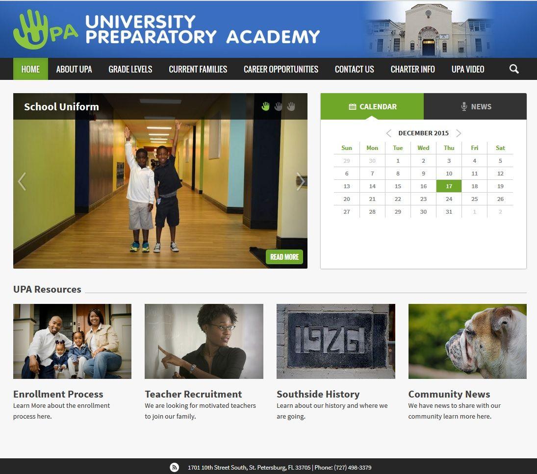 Pin On Great Looking School Websites