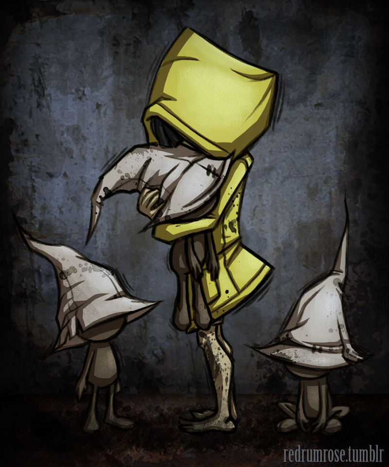 Little Nightmares - Six by roseandthorn on Deviant