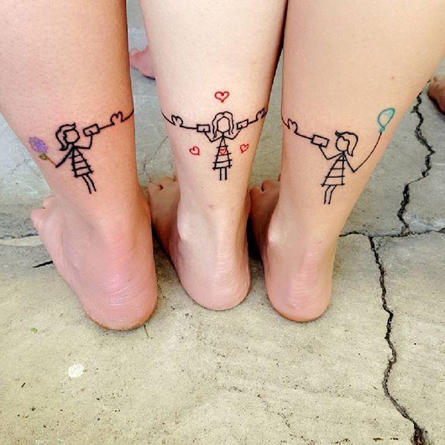 Pin De Flor Gavazza En A Tatuajes De Hermanas Tatuaje Sisters Y