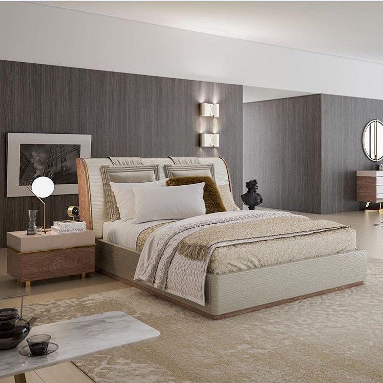 Nill's | Aura Yatak Odası  #nillsfurnituredesign #homedecor #bedroom #chestofdrawers #commode #wooden #yatakodası #evdekorasyonu