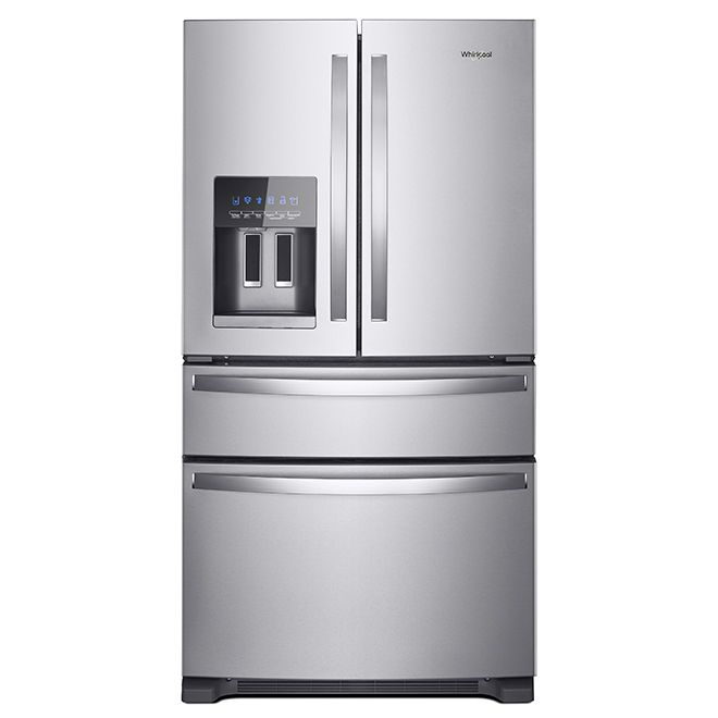 Whirlpool Refrigerator With Exterior Drawer 24 5 Cu Ft