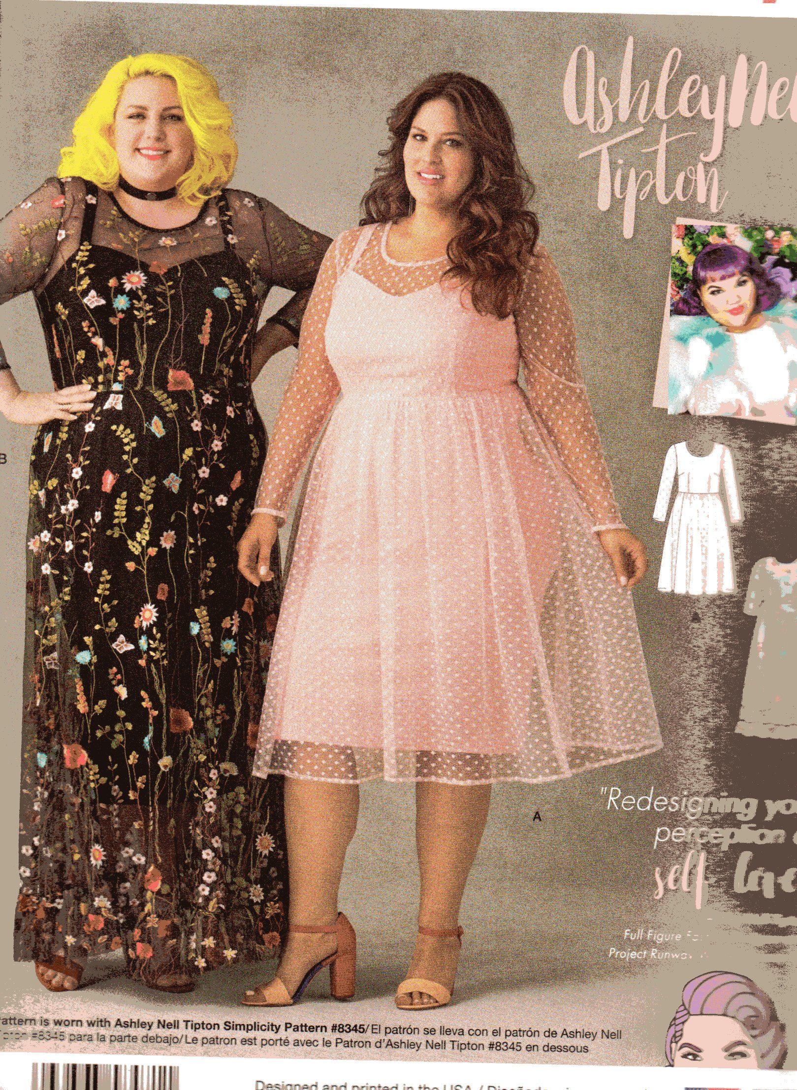 UNCUT/Factory Folded Simplicity Pattern 8471 by ASHLEY NELL TIPTON