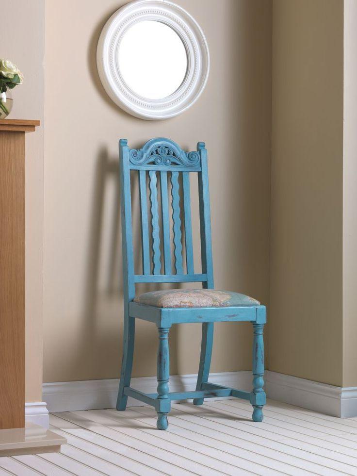 Mueble restaurado con pintura efecto tiza rust oleum for Pintura de tiza para muebles