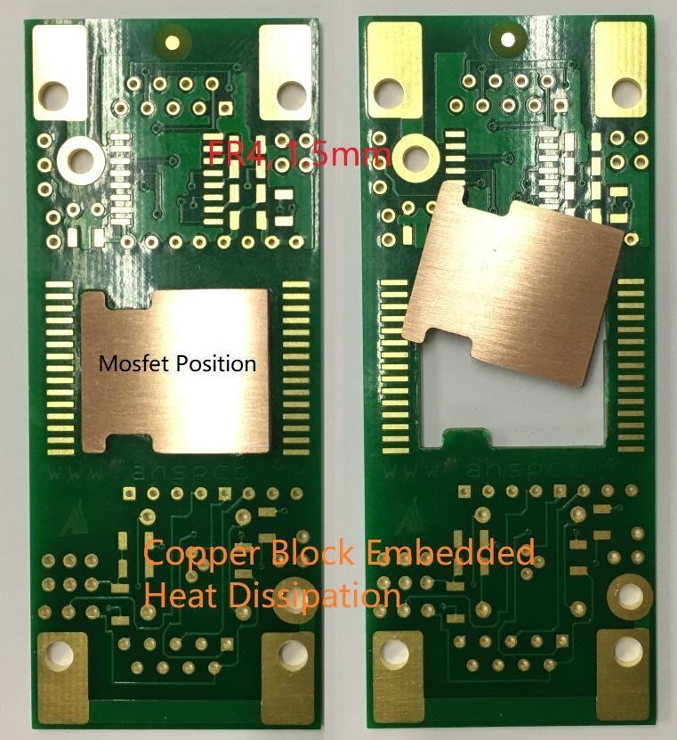 Copper Block Embedded Pcb Heat Dissipation Heat Blocks Copper