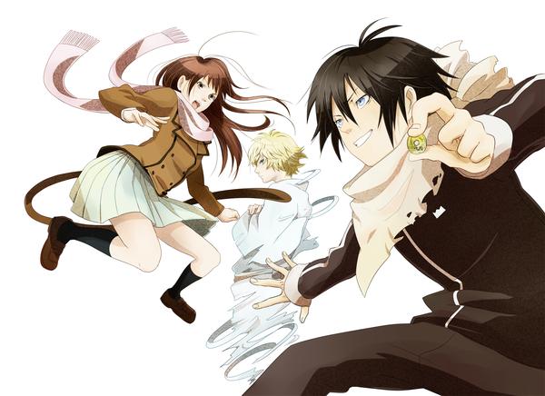 Anime picture noragami studio bones yato (noragami) iki