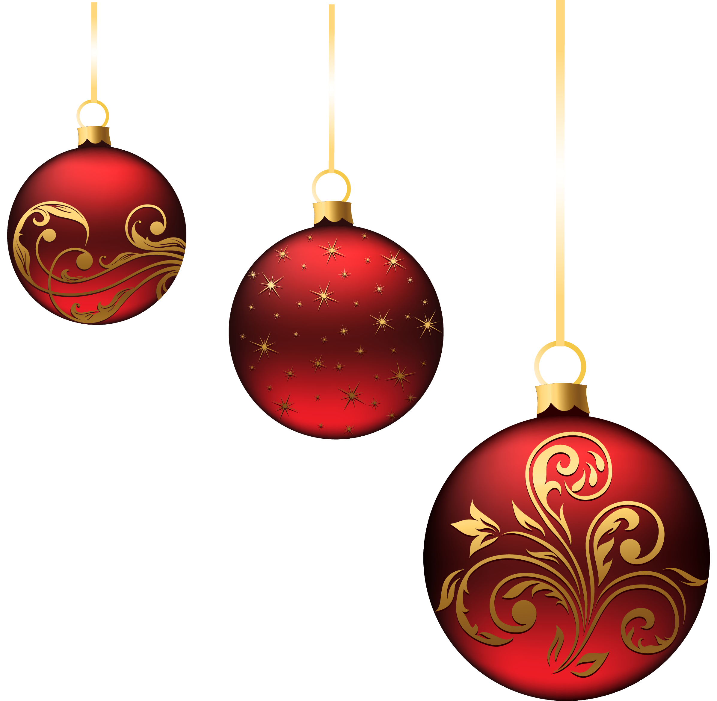 christmas red balls ornaments png picture projekty na. Black Bedroom Furniture Sets. Home Design Ideas