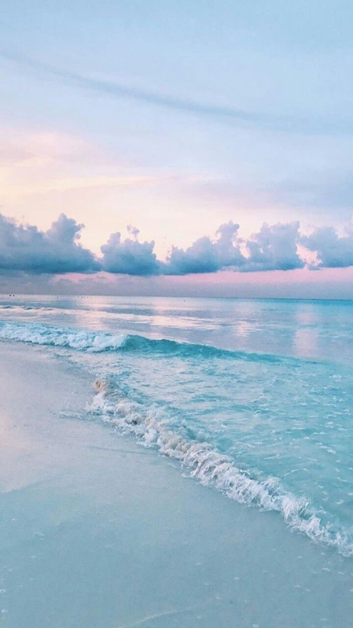 Sky Iceblue Pink White Colours Scene Beauty Vibes Serene Nature Photography Ocean Wallpaper Beautiful Wallpapers