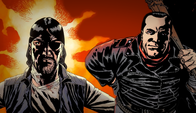 Check Out This Comparison Of The Walking Deads Two Greatest Villains And How Rick Dealt