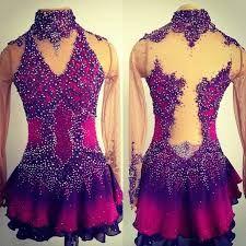 beautiful figure skating dress