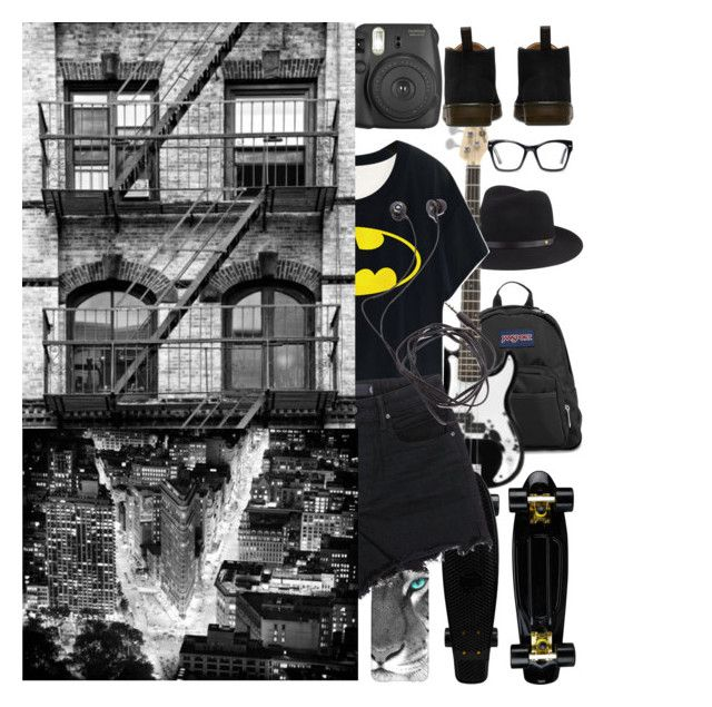 """""""Take the Town"""" by blurry-chapter ❤ liked on Polyvore featuring moda, JanSport, rag & bone, Dr. Martens, Spitfire, T By Alexander Wang, Diane Von Furstenberg, women's clothing, women y female"""