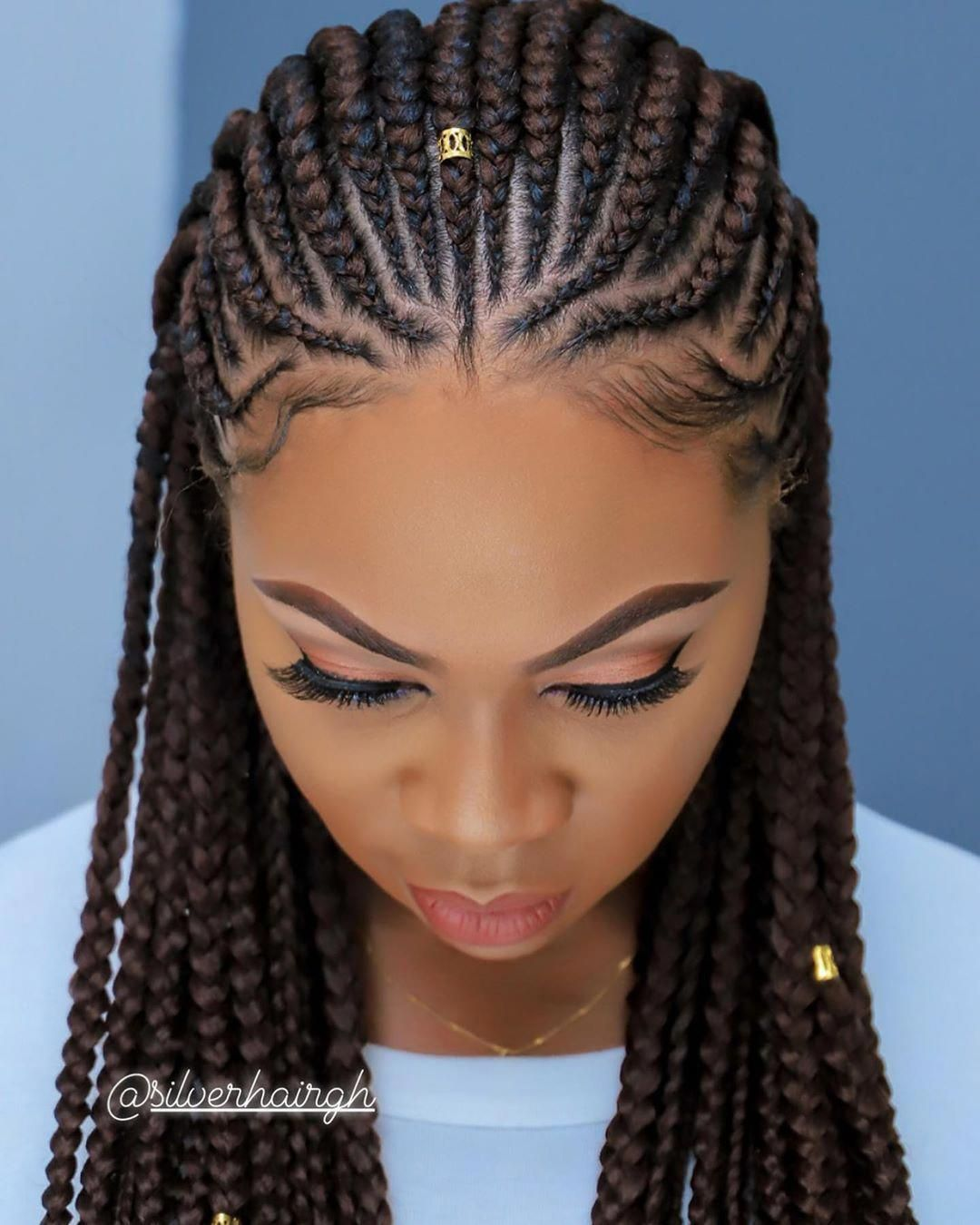 Silverhair Salon And Spa On Instagram Clear View Of This Magic We Created Muse Mi In 2020 Natural Hair Braids African Hair Braiding Styles Braids For Black Hair
