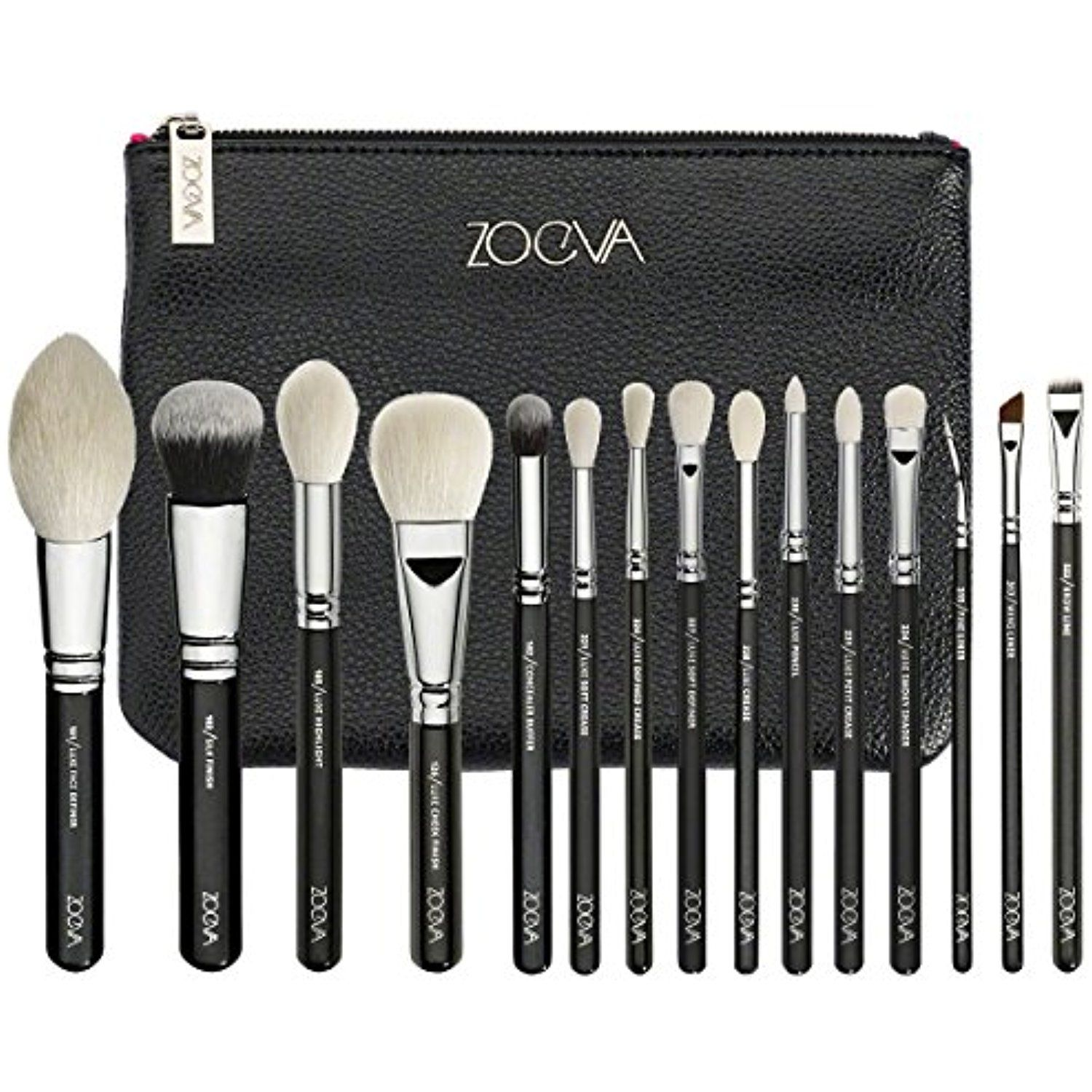 ZOEVA LUXE COMPLETE 15 PENNELLI MAKEUP BRUSHES