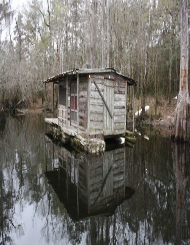 Swamp House Boat