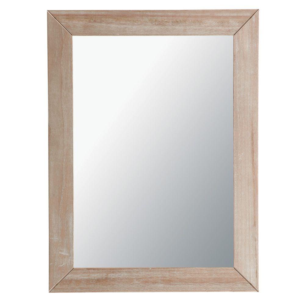 Miroir Natura cérusé 120x90 miroir Pinterest