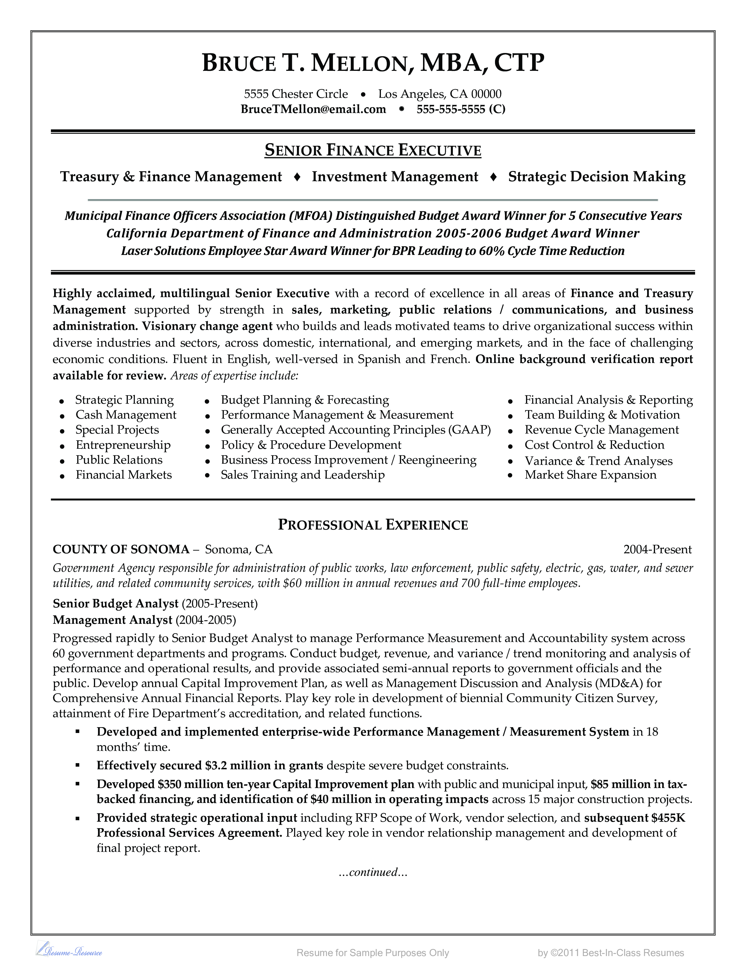 financial management resume how to draft a marketing product manager bsc chemistry fresher sample high school no work experience