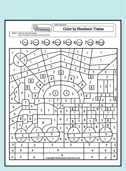 10 Best images about COLOR BY NUMBER on Pinterest   Coloring ...