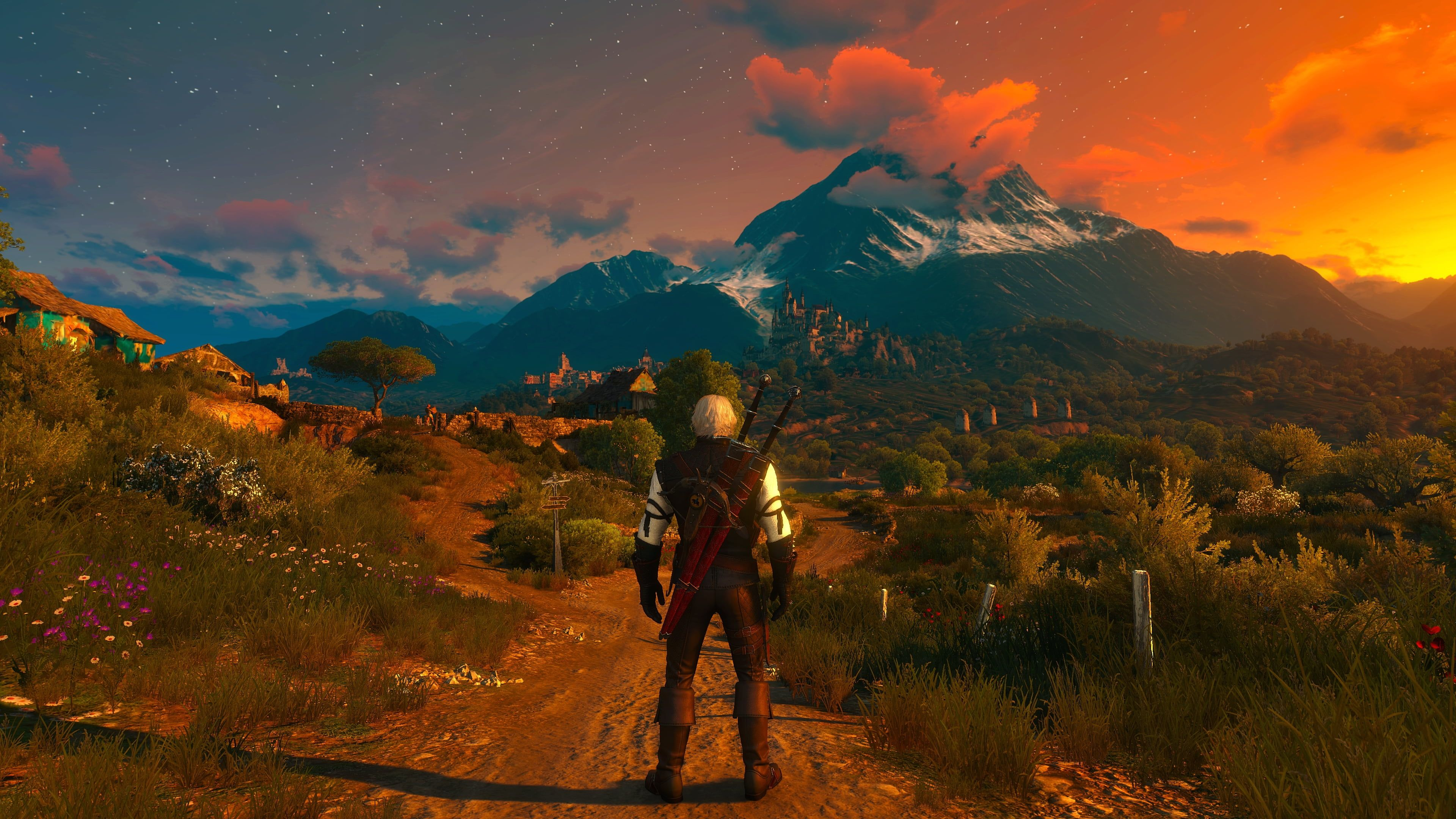 Wallpaper The Witcher The Witcher 3 Blood And Wine 3840x2160