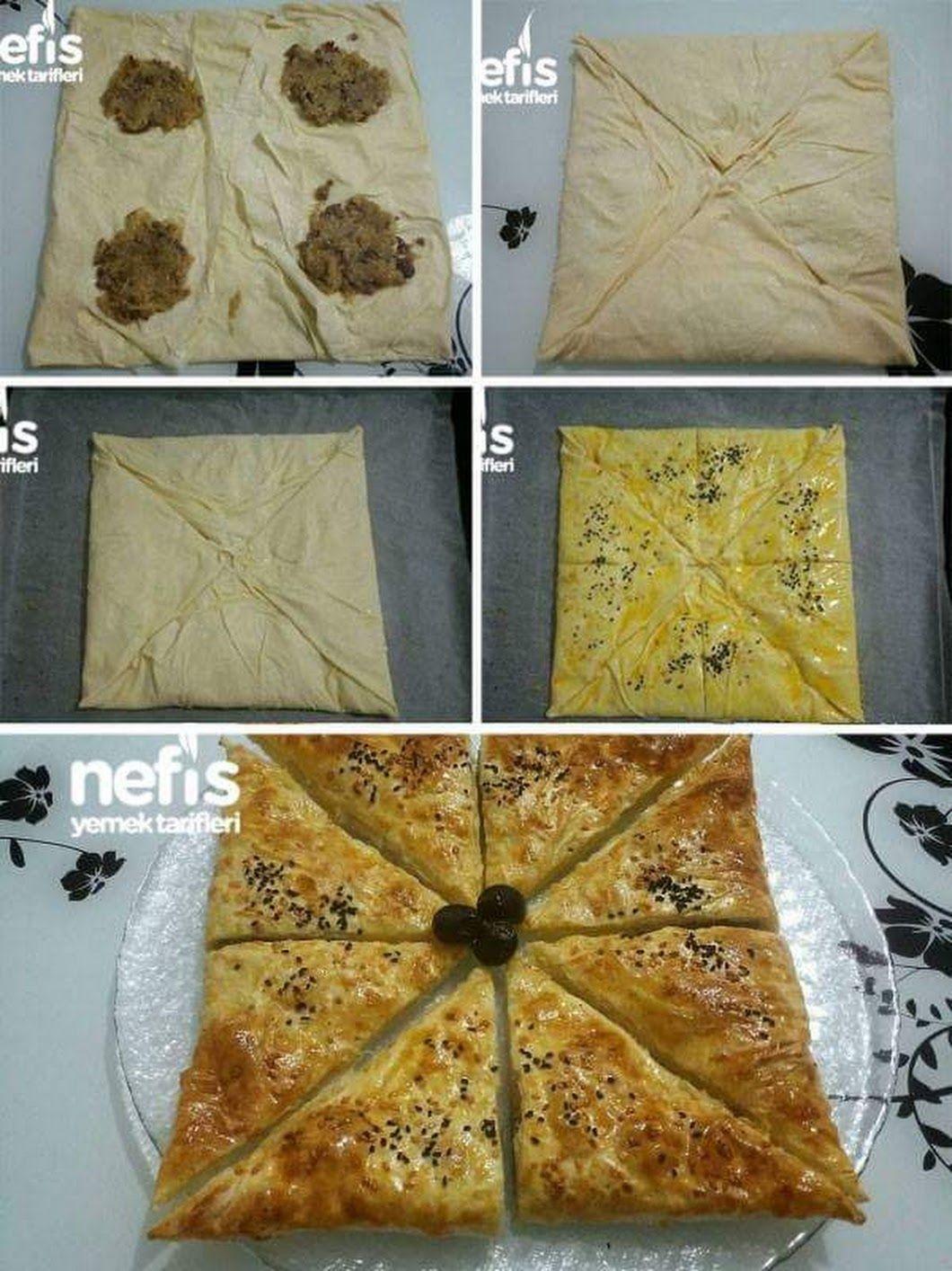 Kıymalı Zarf Böreği