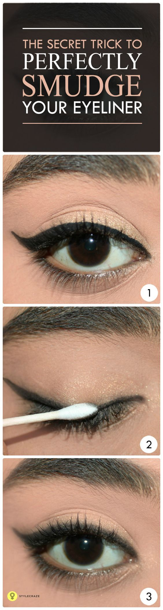 how to stop your eyeliner from smudging