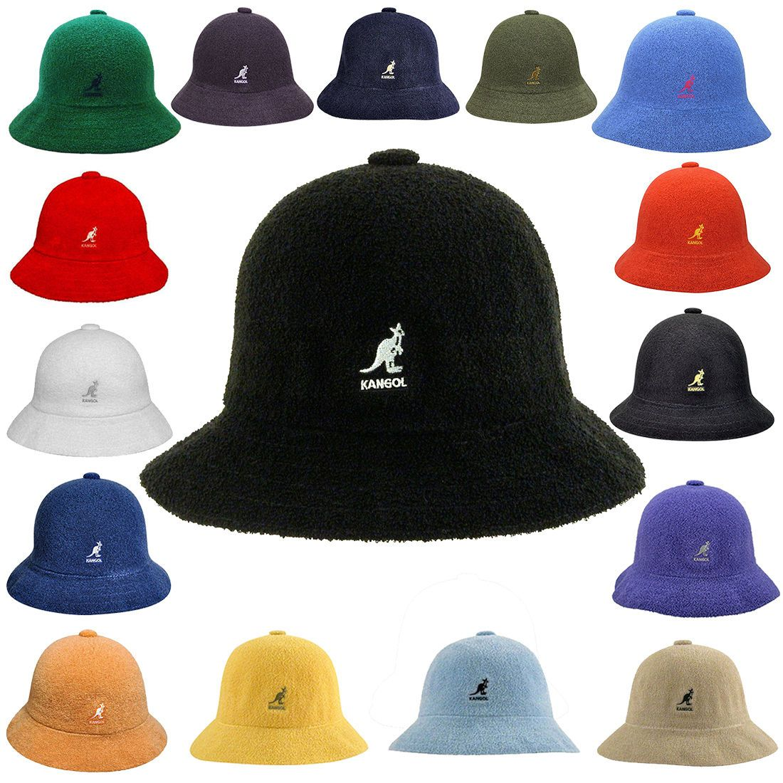 New100 Authentic Kangol Bermuda Casual Bucket Cap Hat 0397bc Sizes S M L Xl Xxl Kangol Hats For Men Kangol Hats