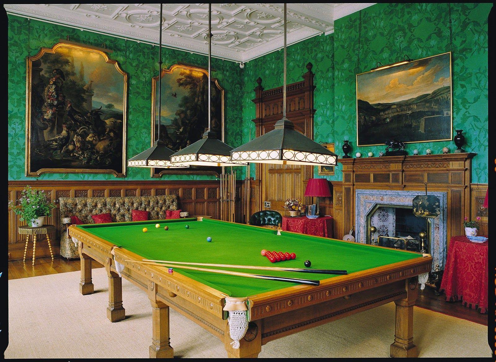 Charlecote Park Billiard Room Billiard Room Billiards