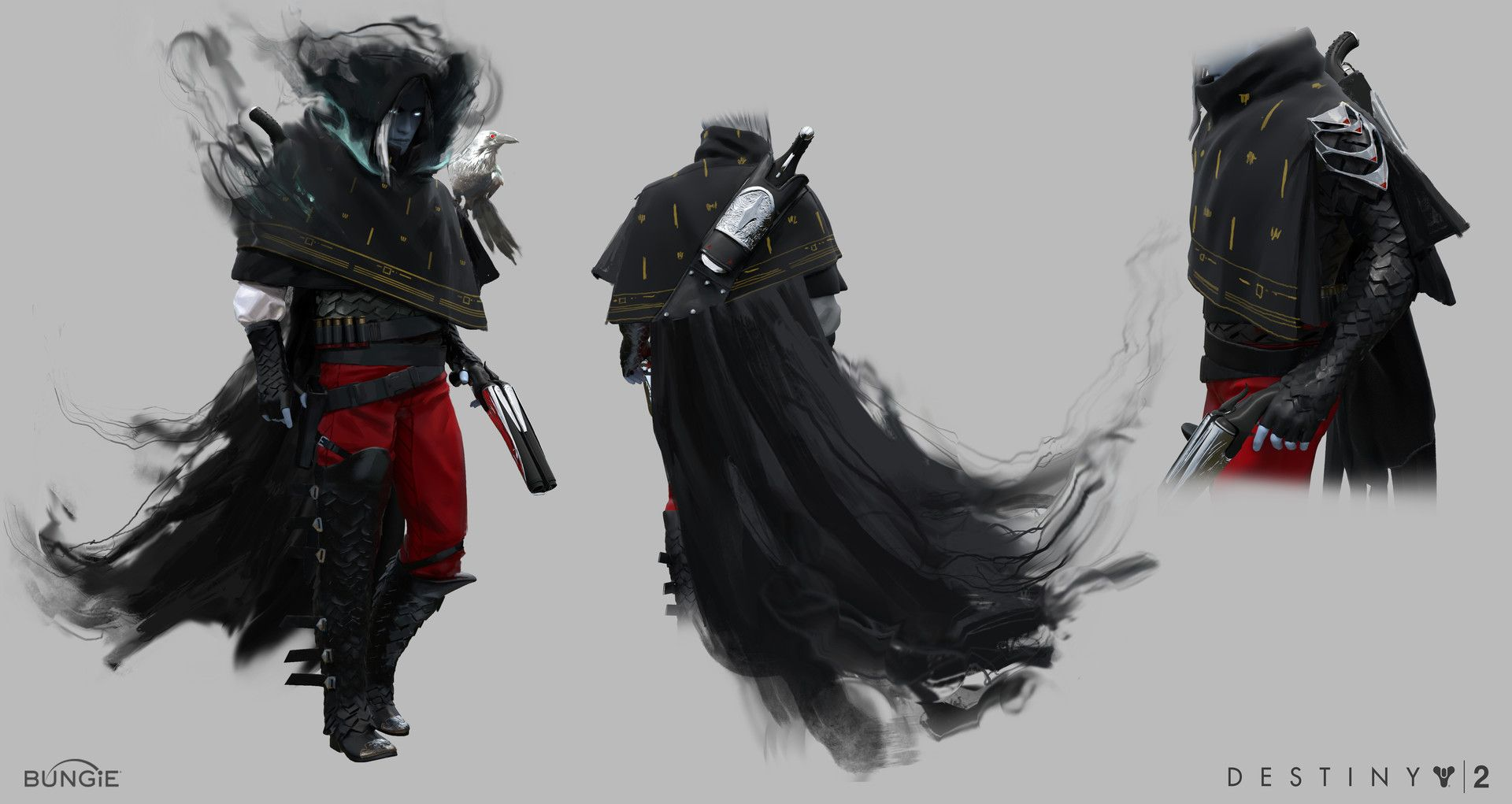 Artstation Destiny 2 Forsaken Prince Uldren Ryan Gitter Art