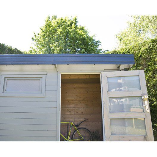 Abri de jardin bois Elite, 8.18 m² Ep.28 mm | Jardin mer | Pinterest