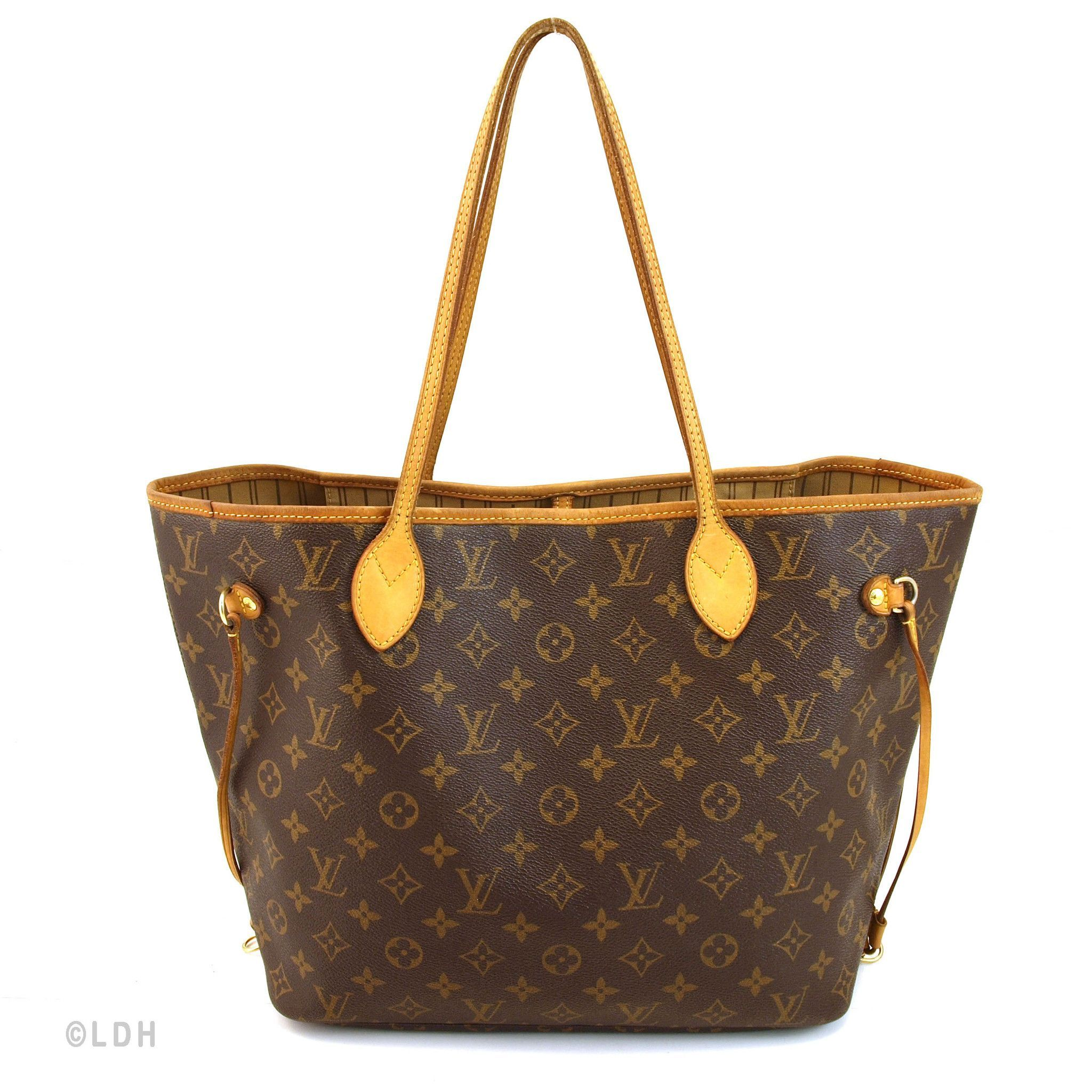 Louis Vuitton Neverfull Mm Authentic Pre Owned