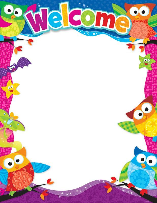 Owl Border Writing Paper Happy Birthday Owl Free Clip Art Kindergarten Crafts