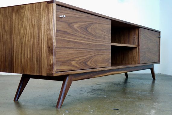 Danish Modern Tv Credenza : Mid century modern tv stands danish stand credenza awesome wood