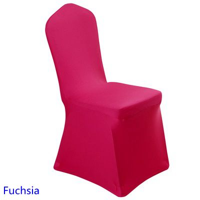 Chair Covers China Fuchsia Colour Wedding Chair Covers Lycra Spandex Stretch Banquet Chair C Housse De Chaise Lycra Housse De Chaise Mariage Chaises De Mariage