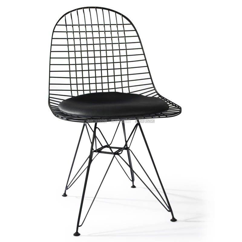Replica Design Meubelen.Eiffel Dkr Wire Chair Geinspireerd Door Charles Eames Replica