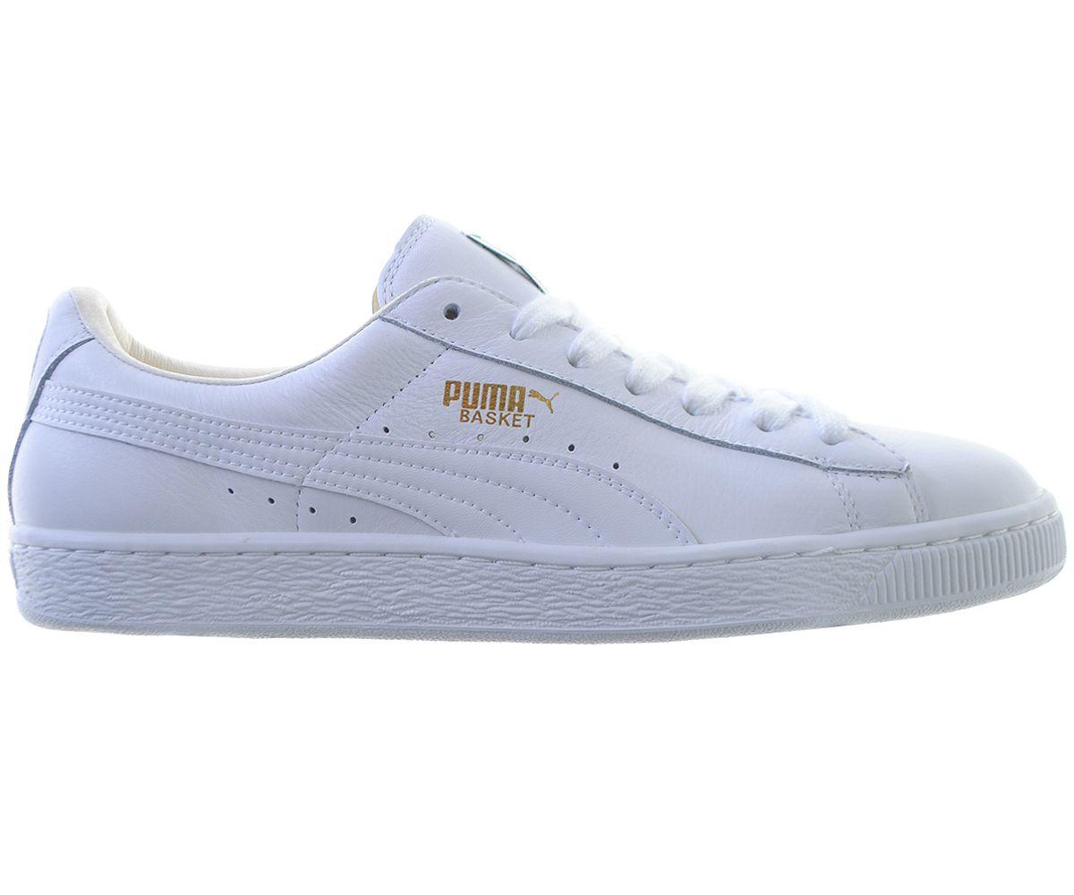 b58002320d37 Puma Basket Trainer White Leather - Terraces Menswear