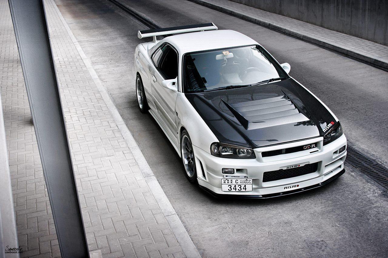 Left Hand Drive Nissan Skyline R34 Skyline GT-R From The