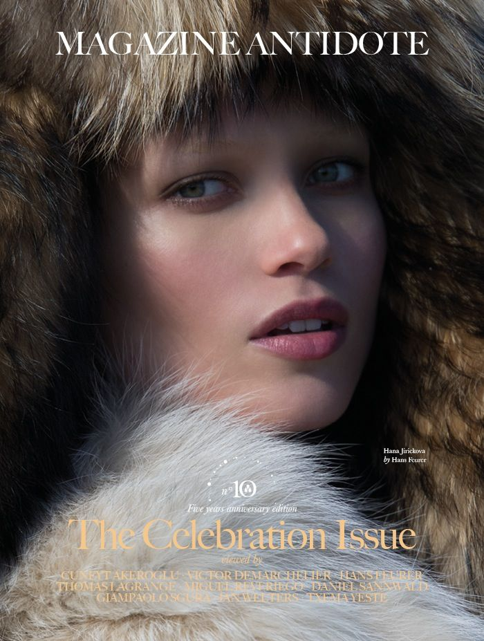 Antidote Magazine celebrates its fifth year of publication with a total Fendi cover.