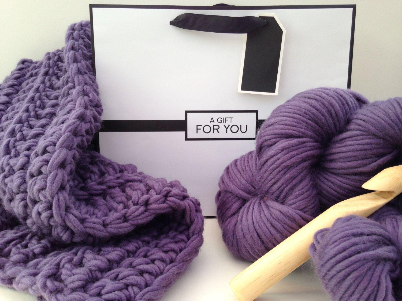 Diy crochet kit baby blanket diy crochet kit learn to crochet diy crochet kit baby blanket diy crochet kit learn to crochet knitting kit super chunky bankloansurffo Choice Image