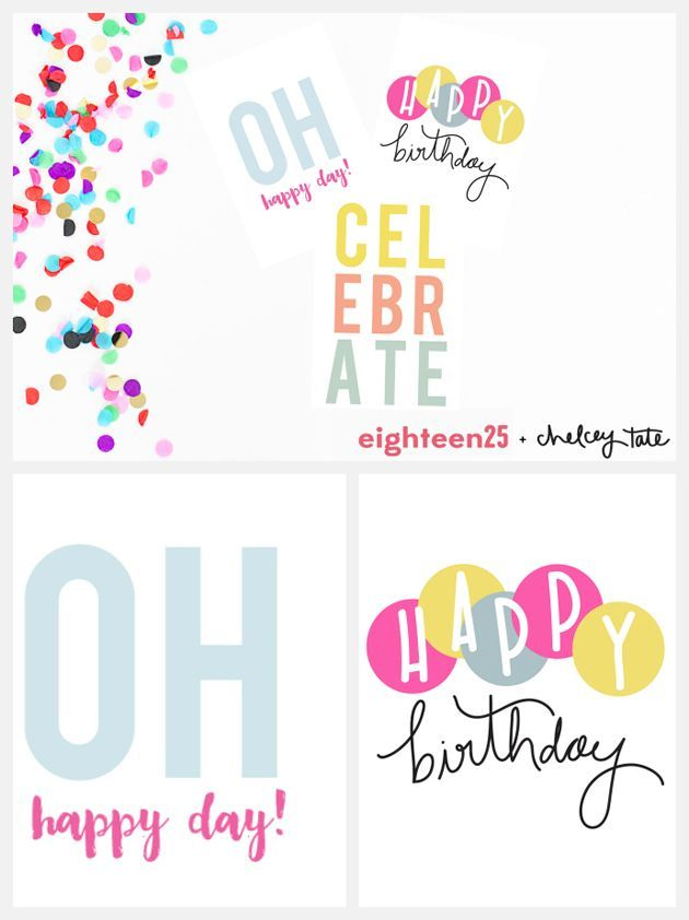 Printable Birthday Note Cards Free printables, Birthday week and - birthday card templates free
