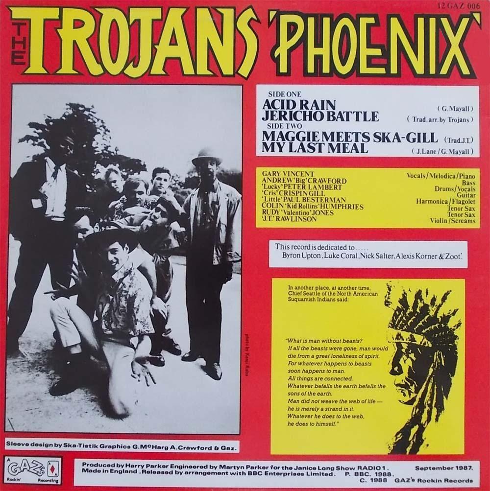 The Trojans - Phoenix EP (1988)