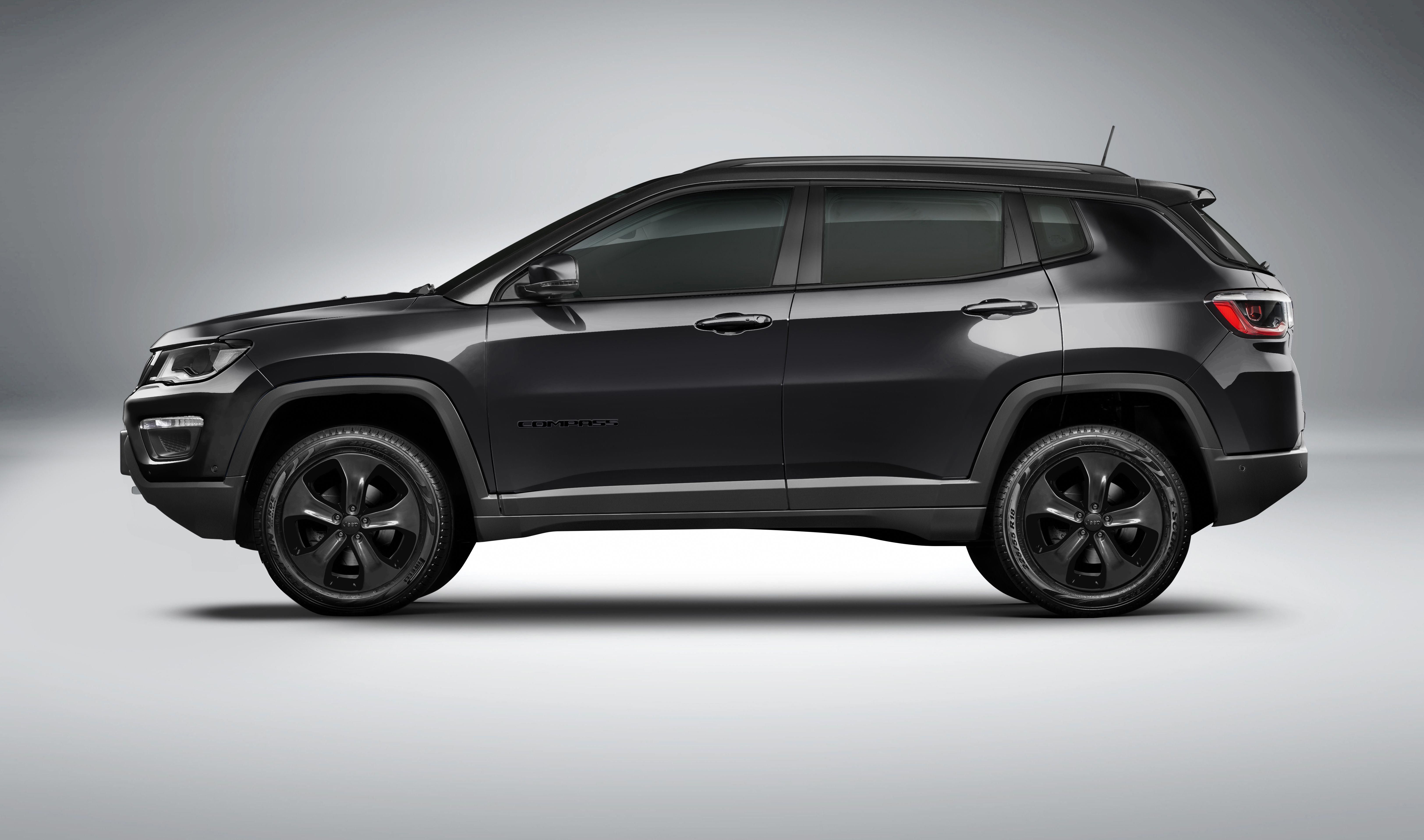 Jeep India Teases Limited Edition Compass Night Eagle Trim In 2020