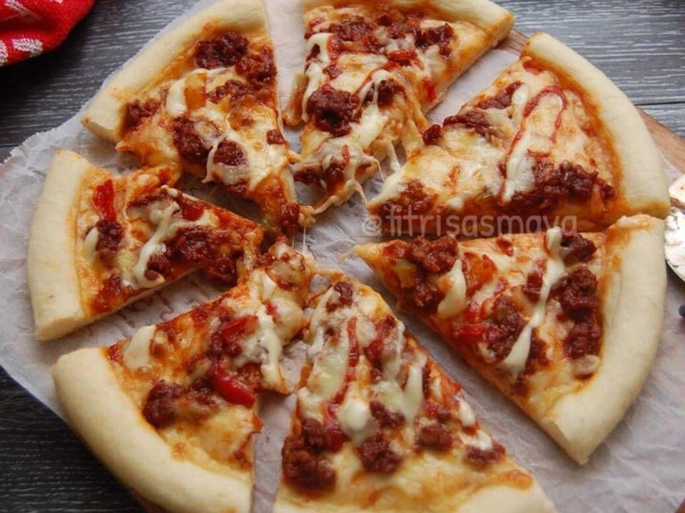 Resep Pizza Ulen 3 Menit Awet Empuknya Oleh Fitri Sasmaya Resep Resep Resep Masakan Masakan