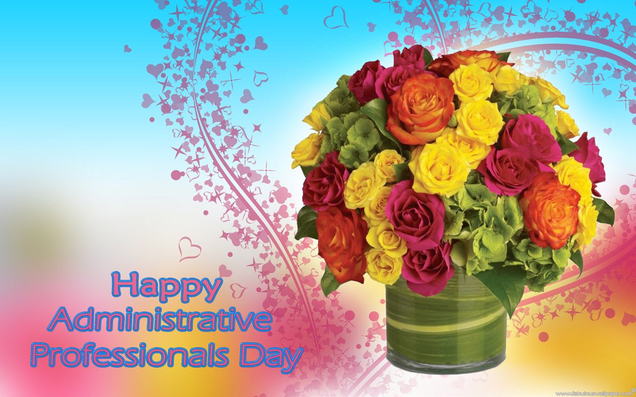 celebrate administrative professionals day at pic this