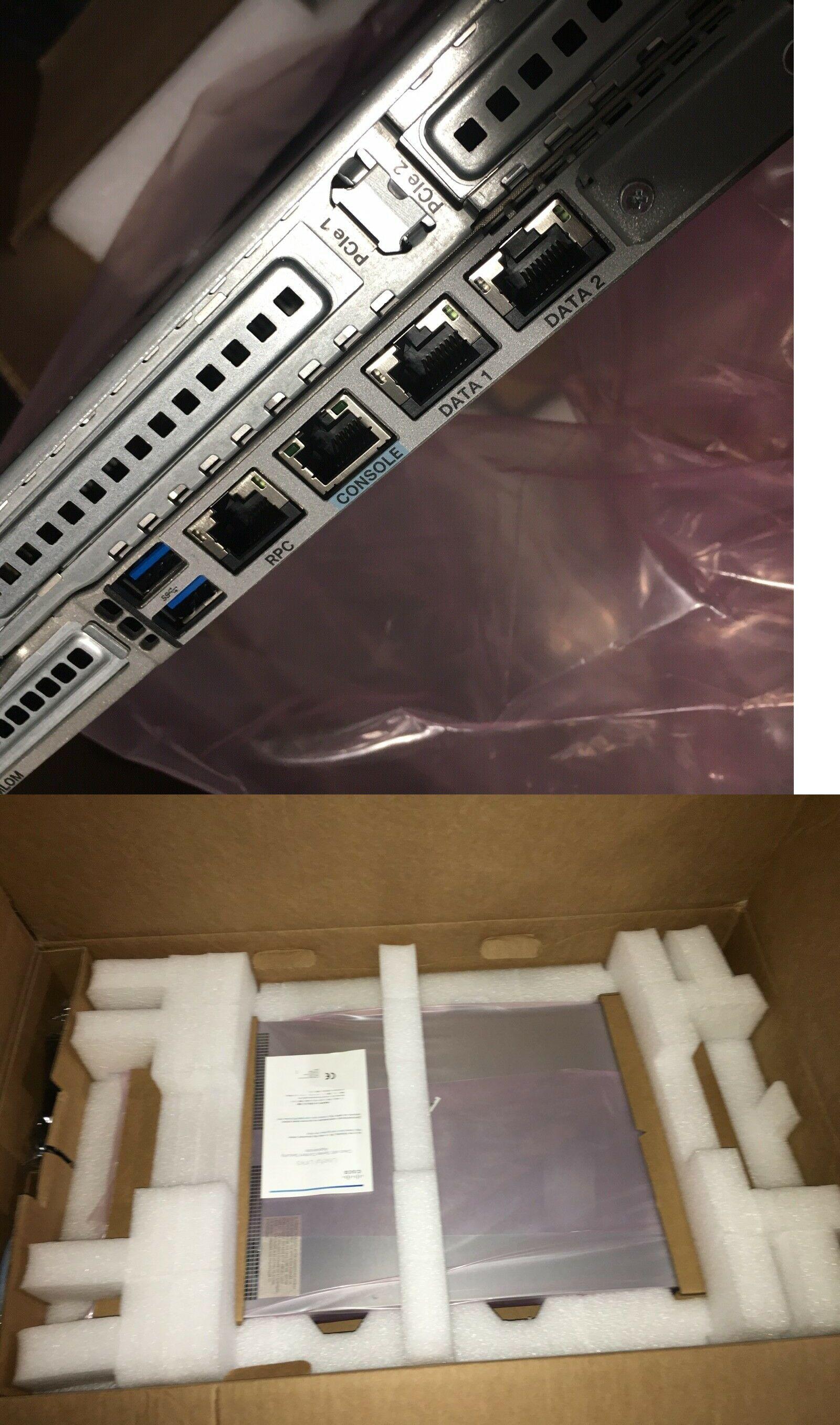 Computer Servers 11211: New Cisco Ucs C220 M4 8-Bay 2X 600Gb 10K 8Gb